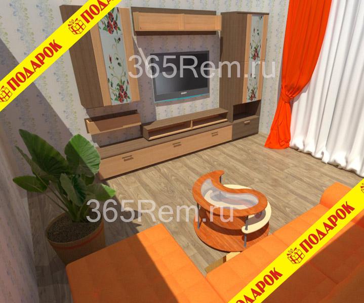 Дизайн квартиры в Ангарске