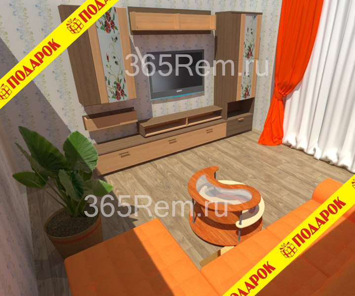 Дизайн квартиры в Астрахани