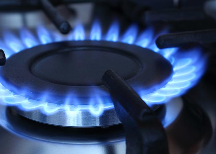 Газ на кухне