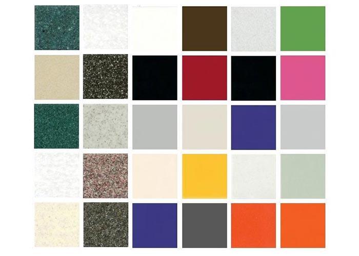 Цветовая гамма искусственного камня