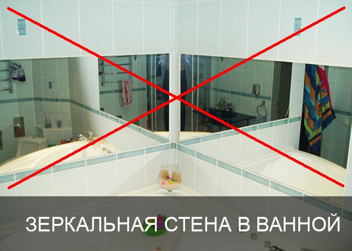 Зеркало для ванной комнаты с подсветкой